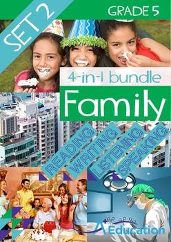 4-IN-1 BUNDLE- Family (Set 2) – Grade 5