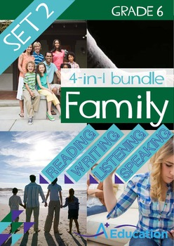 4-IN-1 BUNDLE- Family (Set 2) – Grade 6