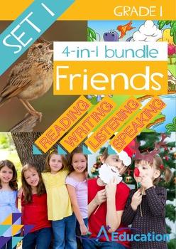 4-IN-1 BUNDLE - Friends (Set 1) - Grade 1