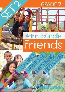 4-IN-1 BUNDLE- Friends (Set 2) - Grade 2