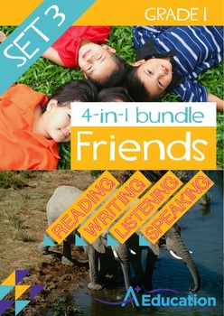 4-IN-1 BUNDLE - Friends (Set 3) - Grade 1