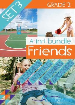 4-IN-1 BUNDLE- Friends (Set 3) - Grade 2