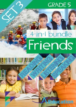 4-IN-1 BUNDLE- Friends (Set 3) - Grade 5