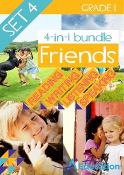 4-IN-1 BUNDLE - Friends (Set 4) - Grade 1