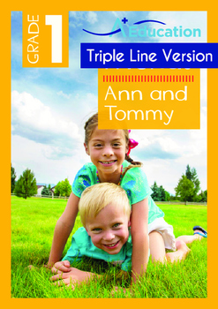 4-IN-1 BUNDLE- Friends (Set 4) - Grade 1 (with 'Triple-Track Writing Lines')