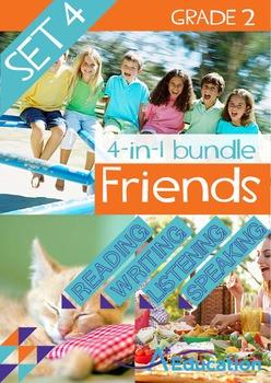 4-IN-1 BUNDLE- Friends (Set 4) - Grade 2