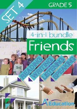 4-IN-1 BUNDLE- Friends (Set 4) - Grade 5