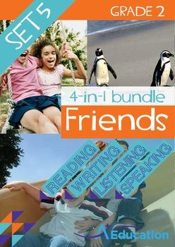 4-IN-1 BUNDLE- Friends (Set 5) - Grade 2