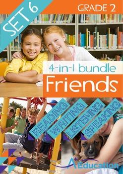 4-IN-1 BUNDLE- Friends (Set 6) - Grade 2