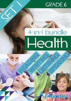 4-IN-1 BUNDLE - Health (Set 1) - Grade 6