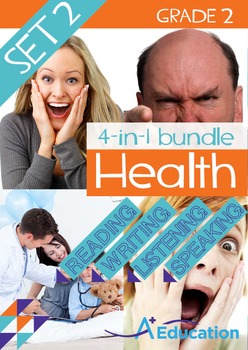 4-IN-1 BUNDLE - Health (Set 2) - Grade 2