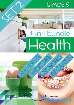 4-IN-1 BUNDLE - Health (Set 2) - Grade 5