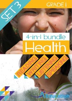 4-IN-1 BUNDLE - Health (Set 3) - Grade 1