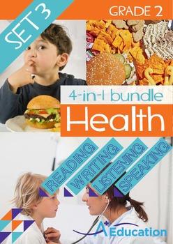 4-IN-1 BUNDLE - Health (Set 3) - Grade 2