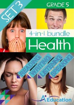 4-IN-1 BUNDLE - Health (Set 3) - Grade 5