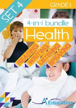 4-IN-1 BUNDLE - Health (Set 4) - Grade 1