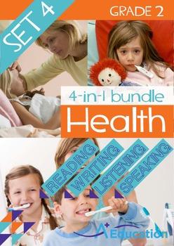 4-IN-1 BUNDLE - Health (Set 4) - Grade 2