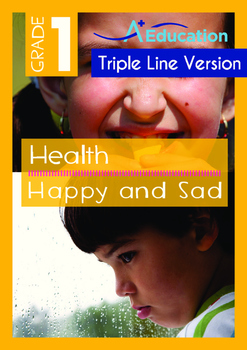 4-IN-1 BUNDLE- Health (Set 3) - Grade 1 (with 'Triple-Track Writing Lines')