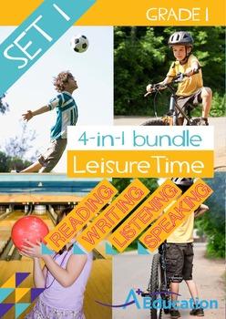 4-IN-1 BUNDLE - Leisure Time (Set 1) - Grade 1