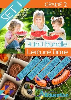 4-IN-1 BUNDLE - Leisure Time (Set 1) - Grade 2