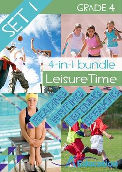 4-IN-1 BUNDLE - Leisure Time (Set 1) - Grade 4