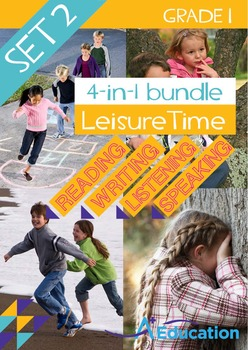 4-IN-1 BUNDLE - Leisure Time (Set 2) - Grade 1