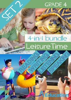 4-IN-1 BUNDLE - Leisure Time (Set 2) - Grade 4