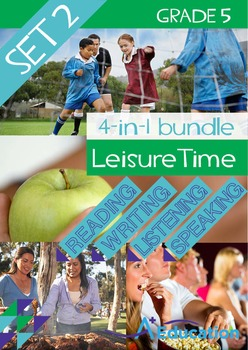 4-IN-1 BUNDLE - Leisure Time (Set 2) - Grade 5