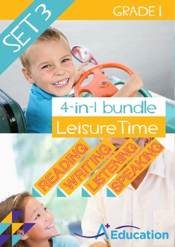 4-IN-1 BUNDLE - Leisure Time (Set 3) - Grade 1