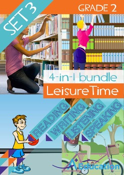 4-IN-1 BUNDLE - Leisure Time (Set 3) - Grade 2