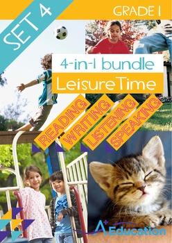 4-IN-1 BUNDLE - Leisure Time (Set 4) - Grade 1