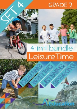 4-IN-1 BUNDLE - Leisure Time (Set 4) - Grade 2