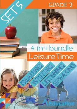 4-IN-1 BUNDLE - Leisure Time (Set 5) - Grade 2