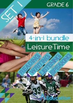 4-IN-1 BUNDLE - Leisure Time (Set 1) - Grade 6