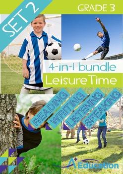 4-IN-1 BUNDLE - Leisure Time (Set 2) - Grade 3
