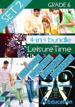 4-IN-1 BUNDLE - Leisure Time (Set 2) - Grade 6