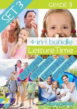 4-IN-1 BUNDLE - Leisure Time (Set 3) - Grade 3