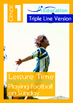 4-IN-1 BUNDLE- Leisure Time (Set 4) - Grade 1 (with 'Triple-Track Lines')