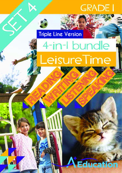 4-IN-1 BUNDLE- Leisure Time (Set 4) - Grade 1 (with 'Tripl