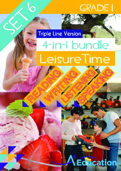 4-IN-1 BUNDLE- Leisure Time (Set 6) - Grade 1 (with 'Tripl