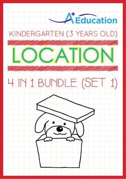 4-IN-1 BUNDLE - Location (Set 1) - Kindergarten, K1 (3 years old)