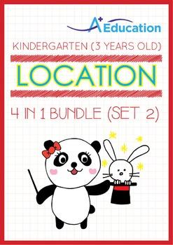 4-IN-1 BUNDLE - Location (Set 2) - Kindergarten, K1 (3 years old)