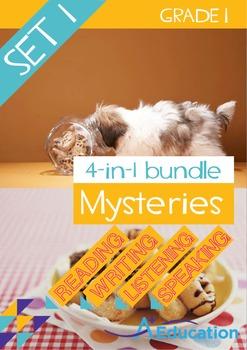 4-IN-1 BUNDLE- Mysteries (Set 1) – Grade 1