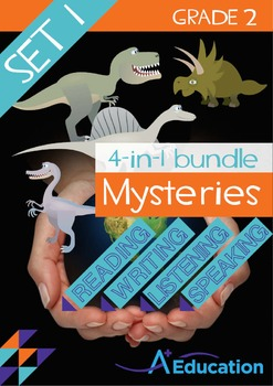 4-IN-1 BUNDLE- Mysteries (Set 1) – Grade 2
