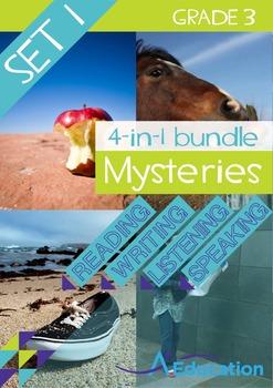 4-IN-1 BUNDLE- Mysteries (Set 1) – Grade 3