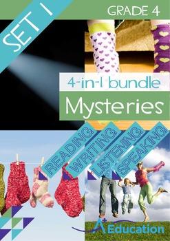 4-IN-1 BUNDLE- Mysteries (Set 1) – Grade 4