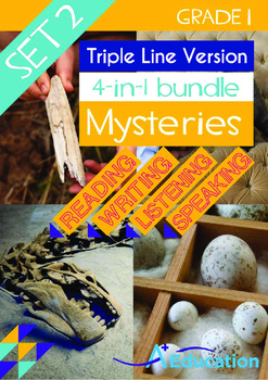 4-IN-1 BUNDLE- Mysteries (Set 2) - Grade 1 (with 'Triple-Track Lines')