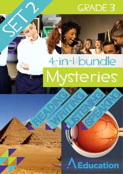 4-IN-1 BUNDLE- Mysteries (Set 2) – Grade 3