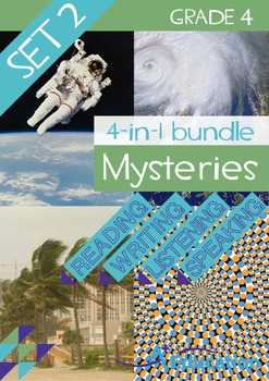4-IN-1 BUNDLE- Mysteries (Set 2) – Grade 4