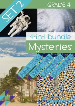 4-IN-1 BUNDLE- Mysteries (Set 2) – Grade 4